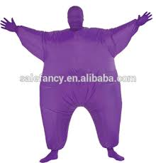 Skin Suit Halloween Costume Puffy Halloween Funny Animal Inflatable Skin Suit Costume