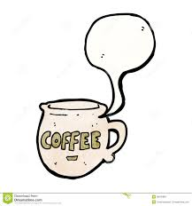 cartoon coffee mug stock photo image 38040880