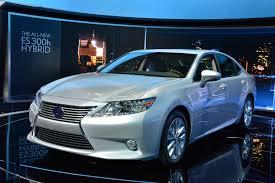 lexus es hybrid sedan lexus es 300h hybrid new york 2012 picture 67755