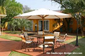 Tropical Patio Design Poolside Patio Design Ideas