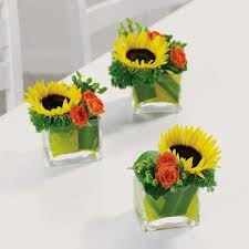centerpieces for party tables sunflower wedding centerpieces party table floral arrangement