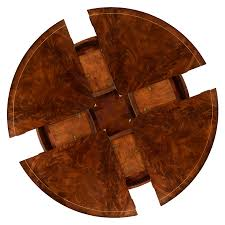 round dining room tables with self storing leaves dining table with self storing leaves mahogany and walnut dining