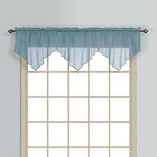 Blue Curtain Valance Slate Blue Valance Wayfair