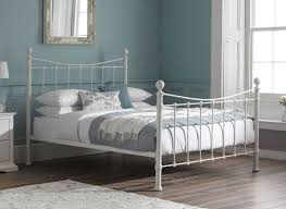 Ikea White Metal Bed Frame Best 20 White Metal Bed Ideas On Pinterest Ikea Bed Frames For