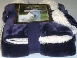 Life Comfort Blanket Costco Amazon Com Purple Sherpa Life Comfort 60 By 70 Inch Blanket Throw