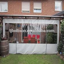 clear pvc gazebo side panels patio enclosure curtain buy gazebo