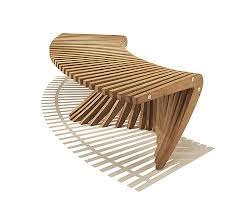 Curved Bench With Back Curved Teak Bench