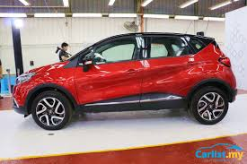 captur renault 2017 2017 renault captur ckd launched in malaysia rm109k auto news