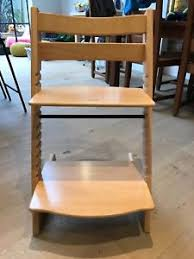 Swedish Wooden High Chair Stokke Trip Trap Wooden Highchairs Ebay