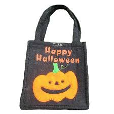 personalized trick or treat bags happy pumpkin trick or treat bag custom trick or treat