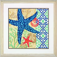 dimensions needlecrafts needlepoint starfish