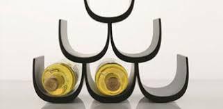 3 stackable wine rack copper honeycomb wine bottle store