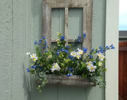 Wooden Window Flower Boxes - wood window box etsy