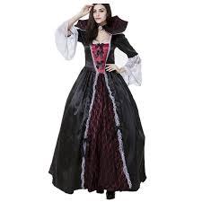 Victorian Halloween Costumes Women Halloween Vampire Princess Halloween Costume Evil Queen