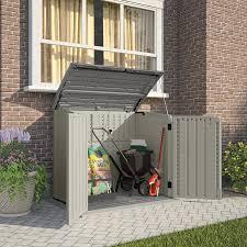 Suncast Resin Glidetop Outdoor Storage Shed by Amazon Com Suncast Bms2500 Horizontal Storage Shed Storage