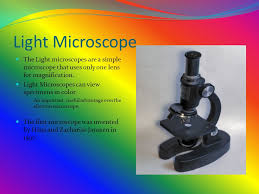 name one advantage of light microscopes over electron microscopes by rob page and tara trovarello ppt video online download