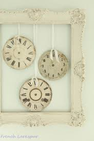 Large Shabby Chic Wall Clock by French Wall Clocks Foter