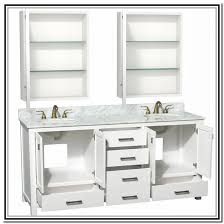 Double Sink Vanity 48 Inches 72 Inch Double Sink Vanity White Home Design Ideas