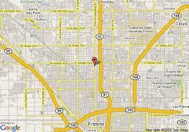 map of fresno map of fresno days inn fresno