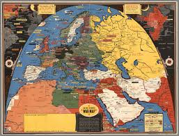 Ww2 Europe Map History Of Maps In Wwii Stanley Turner Dated War Event Maps