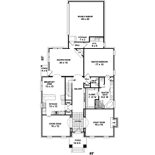 colonial style house plan 3 beds 2 50 baths 3074 sq ft plan 81 438
