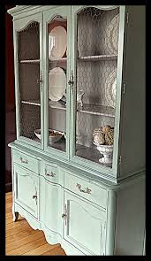 French Country Cabinet Hardware by French Country Blue China Cabinet French Hardware U0026 Chicken Wire
