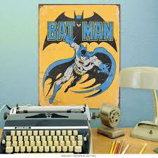 Comic Book Room Decor Batman Classic Swinging Dc Metal Sign Superhero Signs