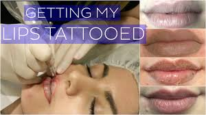 getting my lips tattooed cosmetic tattoo vlog rachael jade