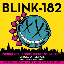 Blink 182 Halloween Shirt by Rotofugi Will Host A Blink 182 Pop Up Shop During Lollapalooza