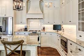 Glass Door KItchen Cabinets With Oil Rubbed Bronze Pulls And Glass - Bronze kitchen cabinet hardware