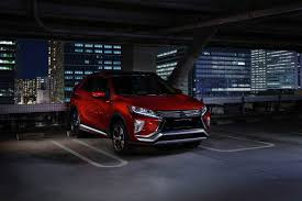2018 mitsubishi eclipse cross has a bad name but a sleek look