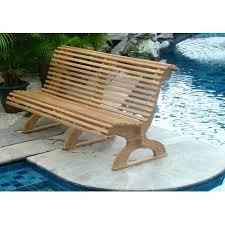 Grade A Teak Patio Furniture by Wholesaleteak Outdoor Patio Grade A Teak Wood Trolley Car Bench