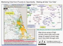 Chicago Poverty Map by Tutor Mentor Institute Llc March 2015