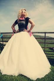 a rockin wedding dress inspiration shoot from assassynation and