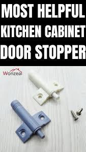 kitchen cupboard door stoppers applying the most helpful kitchen cabinets door stopper