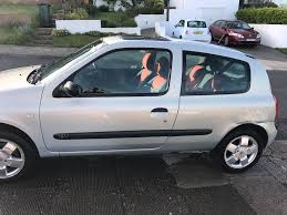 2003 renault clio extreme 2 1 2l 16v manual mot july 2017 in