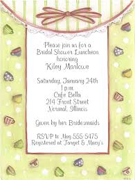 bridal lunch invitations party luncheon bridal shower invitations