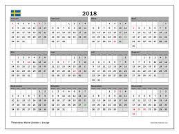 Kalender 2018 Helgdagar Kalendrar För Att Skriva Ut 2018 Sverige