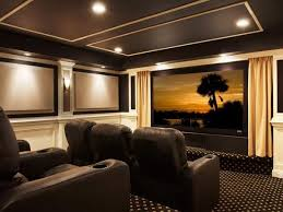 Home Theater Ceiling Design