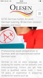 gcse german tuition london a level german lessons london ib