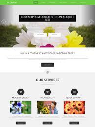flower decoration html template flower website templates