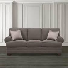 extra large custom upholstered sofa bassett furniture