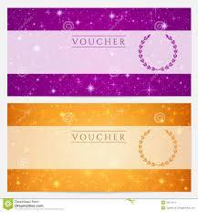 meal ticket voucher template