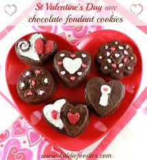 chocolate s day s day dessert ideas easy chocolate fondant cookies