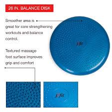 Seating Disc Balance Cushion Amazon Com J Fit Inflatable Balance U0026 Stability Disc Largest