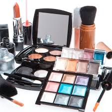 Makeup Set set of cosmetic makeup products stock photo colourbox