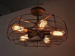 ceiling fan pandent vintage industrial edison lamp bar restaurant