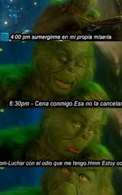 Grinch Meme - jajaja discovered by jenny on we heart it