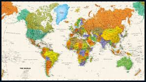 Map Of Oceans Mapsherpa Magna Carta Maps