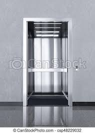 bureau chrome bâtiment bureau chrome métal ascenseur ouvert dessins